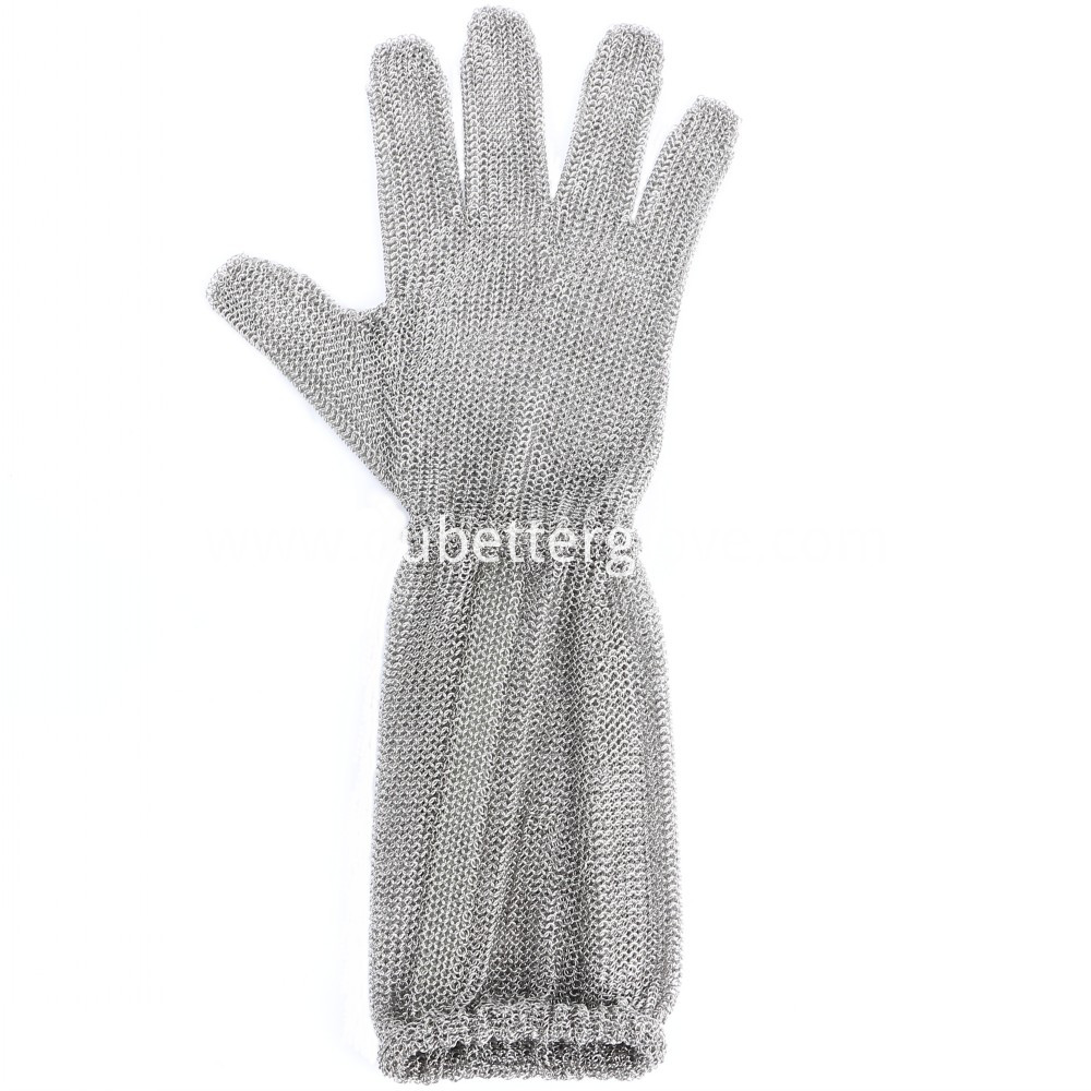 Chainmail Glove Long Cuff